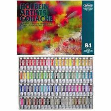 Holbein Artists Gouache Opaque Watercolor 84 Colors Set 15ml Tube (No. 5)