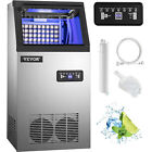 VEVOR 90LB Commercial Ice Maker Built-in Undercounter Freestand Ice Cube Machine photo