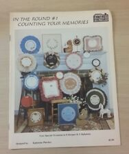 IN THE ROUND #1 COUNTING YOUR MEMORIES CROSS STITCH PATTERN FREE SHIPPING