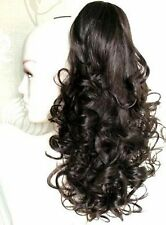 Beautiful Dark Brown Ponytail Clip In Hair Extension!