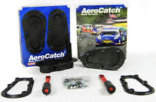 AeroCatch Quick Release Bonnet/Boot Catches Plus Flush Non Locking Pin Black