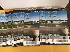Lot Of (2)2009 U.S. Open Mon June 22 Bethpage State Park Unused  Playoff Tickets