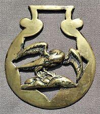 Cast horse brass - Rare 3-D Eagle