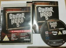 PS3 GUITAR HERO 5  SONY PLAYSTATION 3 GAME ONLY GOOD CONDITION FREE FAST POST