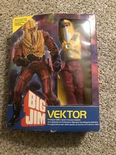 Mattel Big Jim Enemy Vektor Wicked Space Master Condor Prototype Test Sample