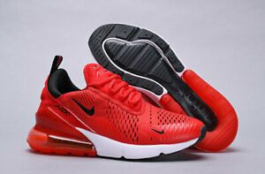 Nike Air Max 270 Men's Shoes Habanero Red/Black/White ah8050-601 Multiple Sizes