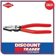 """Knipex 8"""" 200mm High Leverage Combination Pliers - 0201200"""