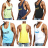 Summer Men's Tank Top Muscle Gym Sleeveless Sports Basic T Shirt Singlet Vest