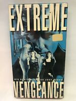 Extreme Vengeance VHS AIP Studios David Cox AIP Home Video RARE OOP - FREE S&h
