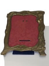 Vintage brass Art Deco like mirror Frame