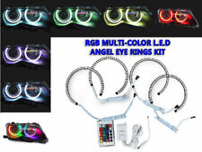 LED Angel Eye Kit RGB Multicolor Xenon Projector For 01-06 BMW M3 E46 2D/4D/5D