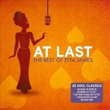 ETTA JAMES - AT LAST : THE BEST OF CD ~ 60's GREATEST HITS R&B SOUL BLUES *NEW*