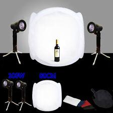 Photography Softbox Lighting Kit 80cm Tent Photo Studio Soft Box Tent Light Cube