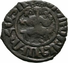 Armenia(Cilicia) 1226-1270 HETOUM I Bronze KARDEZ King Throne CROSS STAR AE