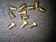 BRAKE PIPE ENDS 10MM X 1MM THREAD MALE 10 PACK