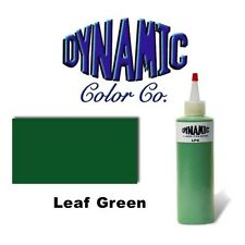 DYNAMIC LEAF GREEN 1-oz Tattoo Ink Brite Vibrant & Dark Color Supply