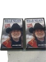 Willie Nelson Who'll Buy My Memories Vol. 1-2 Cassette The IRS Tapes Sony 1991