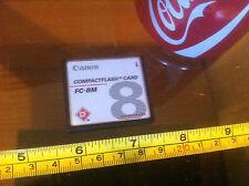 Canon Compact Flash Card FC - 8M Rare Digital Camera Card