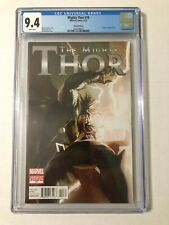 Mighty Thor (2011-2012) #10 Gerald Parel Venom 1:50 Variant CGC 9.4 (NM)