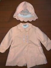 Best & Co Liliputian Bazaar Wool Coat & Hat Little Toddler Girls