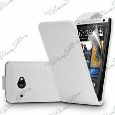 Accesorios Funda Carcasa Fundas Plegable Polipiel Blanco HTC Desire 601 Zara