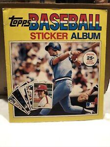 1980 Topps Baseball Sticker Album - FULLY COMPLETED George Brett