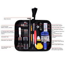 147Pcs Watch Repair Tool Kit Case Opener Link Remover Spring Bar Tool US Stock