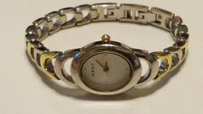 NEXT Ladies Quartz Gold Dial Wrist Watch Gold/Silver Link Bracelet Strap in Box*