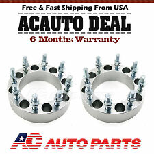 "2x 2"" Wheel Spacers Adapters 8x6.5