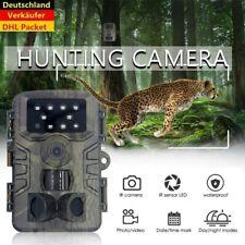 20MP Wildkamera Überwachungskamera 1080P Jagdkamera Fotofalle PIR Nachtsicht DHL