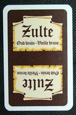 1 x Joker playing card single swap Belgium beer Zulte Oud Bruin R ZJ571