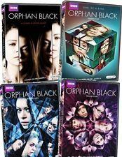 ORPHAN BLACK Complete TV Series Seasons 1-4 First Second Third Fourth Season DVD