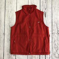 ESCADA SPORT men's Functional Jacket Vest Windstopper Size Medium Red     1629