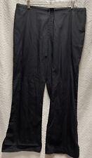 Cherokee Workwear Black Size Large Petite Scrub Pants Style 4101P