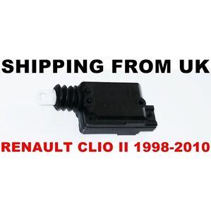 CENTRAL LOCKING MOTOR DOOR LOCK ACTUATOR for RENAULT CLIO MK2 2 II CAMPUS 98-10