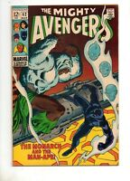 Avengers #62 HIGH GRADE VF+ 8.5 1ST BLACK PANTHER SOLO STORY 1969 FIRST MAN-APE!