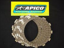 HONDA CR250 CR500 1990-2007 apico EMBRAYAGE fibre PLAQUETTES friction fp111-8