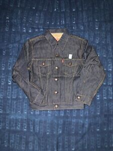 LEVI'S VINTAGE CLOTHING TYPE III TRUCKER JACKET RIGID MADE IN USA