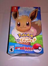 Pokemon Let's Go Pikachu! Pokeball Plus (Box Only, No Game) Nintendo Switch