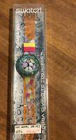 Orologio Swatch Sea Grapes SDK 105 Scuba. Nuovo - Vintage 1992. Raro Collezione