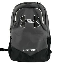 Under Armour UA Storm Scrimmage Backpack Black Gray, Camp/Travel School Bag