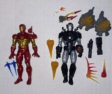 Marvel Legends 90?s WAR MACHINE Deluxe Exclusive, Modular Iron Man Figure Lot
