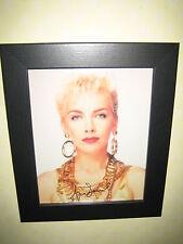 Annie Lennox Signed Photograph (8x10) Framed