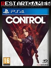 CONTROL - PLAYSTATION 4 - PS4 PAL ITALIANO - USATO GARANTITO