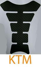 KTM Tankpad Carbon Tankaufkleber Tankschutzfolie