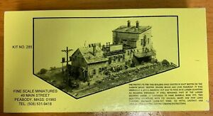 FINE SCALE MINIATURES JEFFRIES POINT STAVE & HEADING CO. KIT NO. 285