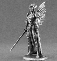 1/32 Fantasy Female Warrior Queen of Crows Tin Metal Soldier Figure handmade NEW