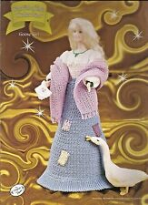 Goose Girl FAIRY TALE Collection Annies Fashion Doll or Barbie Crochet Pattern