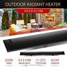 NEW 3200W Electric Outdoor Infrared Radiant Heater Slim-line design optimum temp