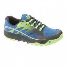 Merrell All out Charge Mens Trail Running Shoes UK 9 Blue Dusk J35447